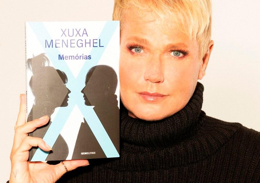 Xuxa Meneghel lança autobiografia com 272 páginas e fotos inéditas