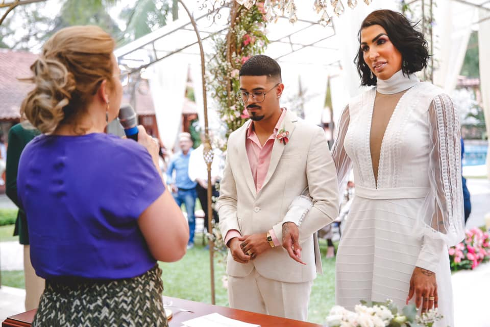 """Pepita se casa: """"Como travesti, posso dizer: o amor existe"""""""