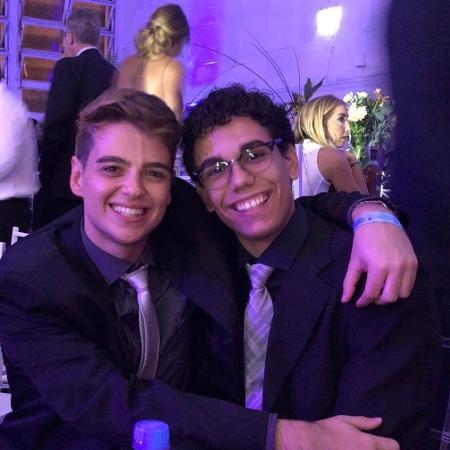 Guilherme Franceschini Simoso, 23, e o também universitário Eric Cordeiro Cavaca