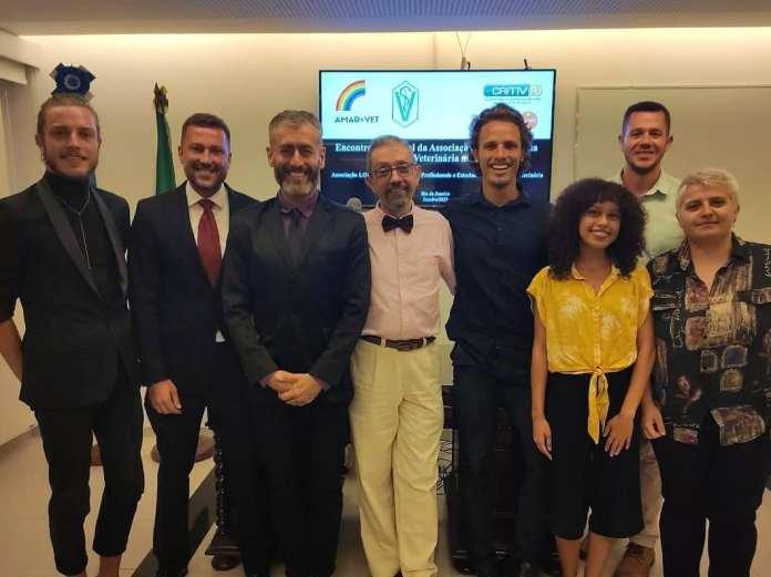 Reunião inaugural da AMAR+VET realizada em janeiro de 2020 - Reprodução