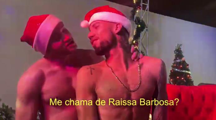 'Me chama de Raissa Barbosa', diz ator pornô enquanto fazia sexo com ex-namorado da modelo