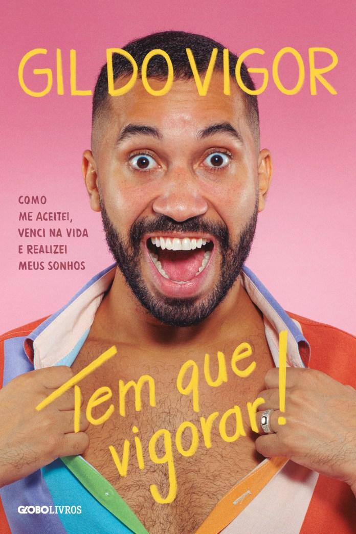 """Livro autobiográfico do Gil do Vigor já tem capa e pré-venda: """"Parece que estou sonhando"""""""