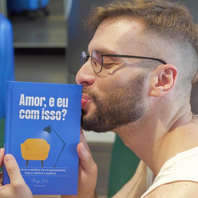 """Escritor e poeta soteropolitano Hugo Porto lança """"Amor, e eu com isso?"""""""