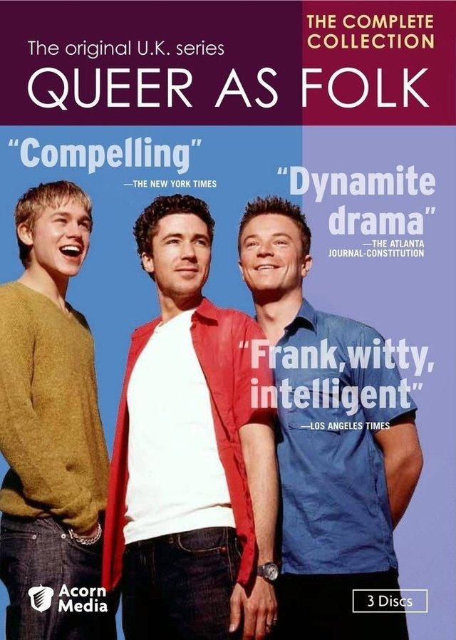 """Elenco da primeira versão de """"Queer As Folk"""" - Reprodução"""
