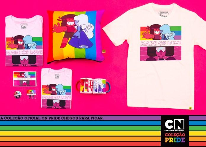 """Cartoon Network anuncia coleção """"pride"""" com mais de 70 itens para crianças e adultos"""