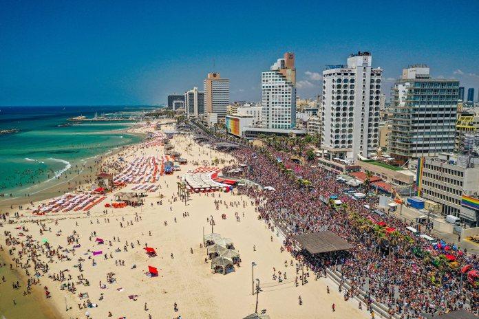 Orgulho de Tel Aviv 2019 (Crédito: Guy Yechiely)