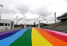 Sambódromo do Anhembi ganha bandeira em homenagem ao mês do Orgulho LGBT