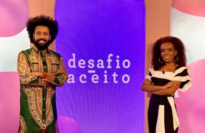 'Desafio Aceito': Thelminha estreia seu primeiro programa como apresentadora