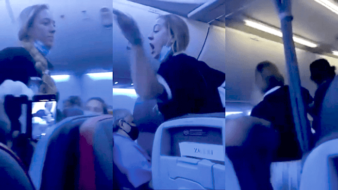 """Mulher é expulsa de voo após dizer que """"v14d0s estão corrompendo a Disney"""""""