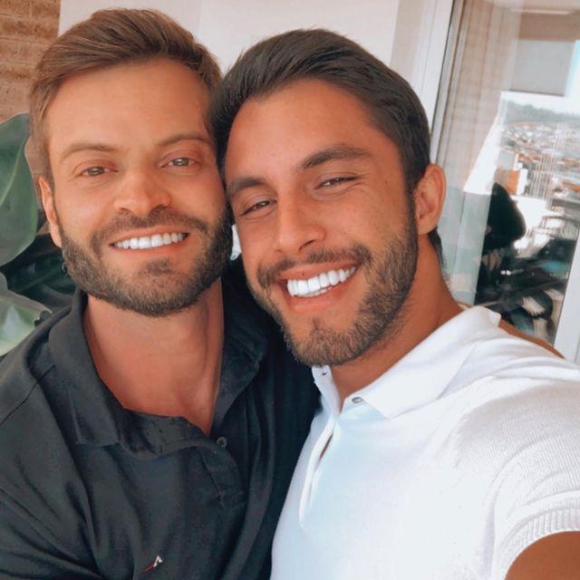 Cazé e Savassi. Reprodução/Instagram