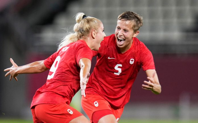 Canadense será a primeira trans a receber uma medalha nos Jogos Olímpicos