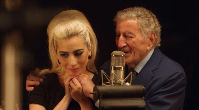 """Lady Gaga e Tony Bennett em """"I Get A Kick Out Of You"""" - Divulgação"""