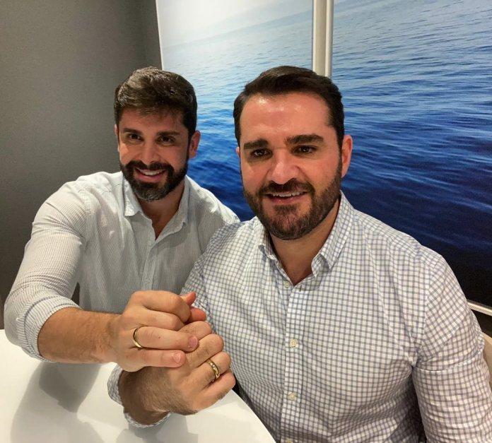 Frankel Brandão e Marcelo Cosme - Reprodução/Instagram