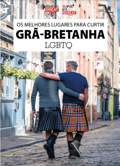 VisitBritain lança guia para inspirar viagens LGBTQIA+ à Grã-Bretanha