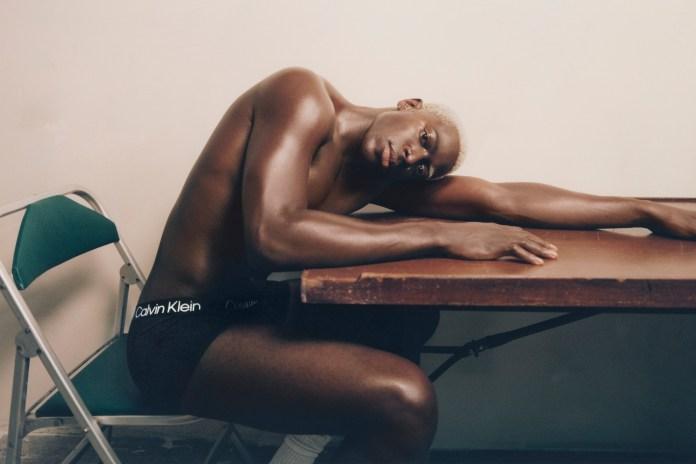 Moses Sumney para a campanha de Outono 2021 da Calvin Klein (Foto: Renell Medrano)