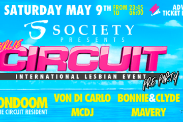 Girlie Circuit Pre-Party Lisbon 9 May