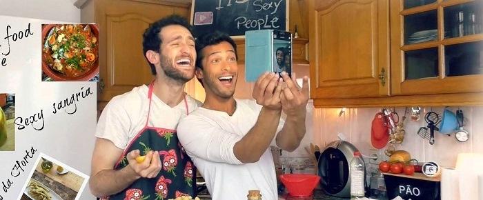 sexy funny kitchen lorenzo and pedro