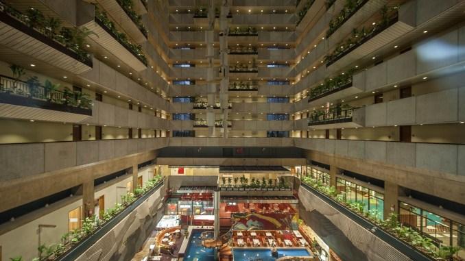 Hotel Maksoud Plaza Atrium. Foto: Daniel Pinheiro