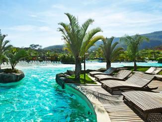 Promoção traz descontos especiais em pacotes de viagens para Rio Quente Resorts (GO), Costa do Sauípe (BA) e Hot Park (GO) para o segundo semestre de 2018