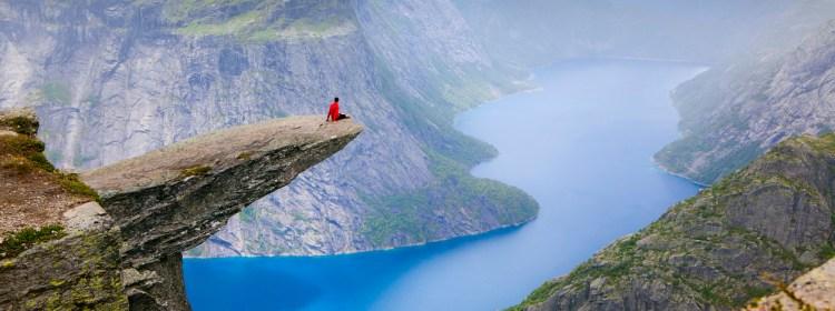 Trolltunga, Noruega (Divulgação)