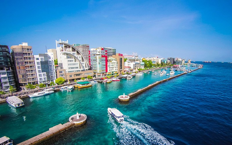 Malé, nas Ilhas Maldivas | ásia