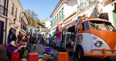 Ruas de Ouro Preto se transformarão em corredor cultural aos domingos