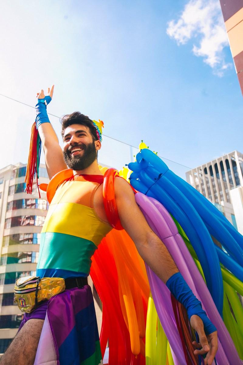 Burger King na Parada LGBT 2019. Foto: Lana Pinho