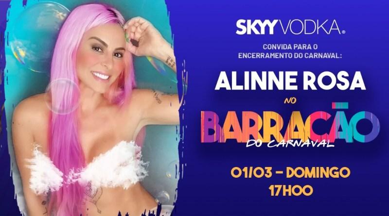 Alinne Rosa é atração na festa da SKYY Vodka deste final de semana