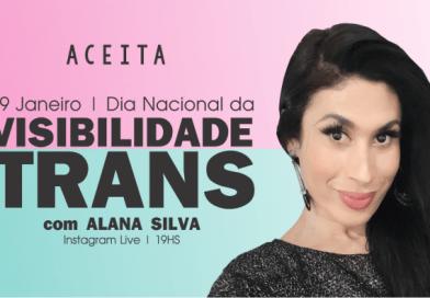 Alana Silva, mulher trans, irá contar um pouco de sua trajetória e conquistas