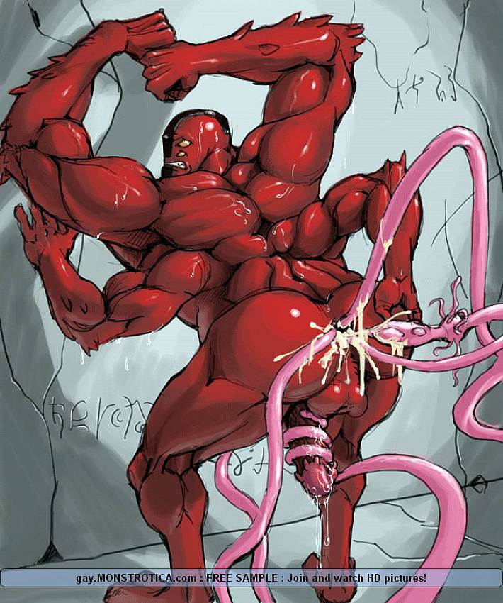 Gay Male Tentacle Porn - Gay Monster Hentai Porn