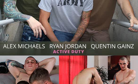 [ActiveDuty] Alex, Quentin Gainz & Ryan Jordan