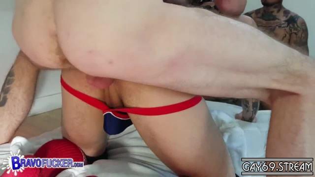 【HD】【BravoFucker】 BDSM an Asian – Two Dicks One Hole_180427