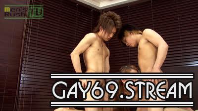 【HD】【MR-NK135】腹筋ボコボコ男子&ヤマトノンケ2人のセックスバトル☆
