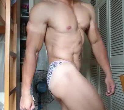 【HD】【Bodybuilder】 Flex Boner 01_190413