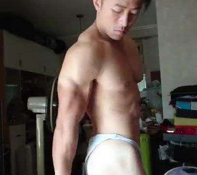 【HD】【Bodybuilder】 Flex Boner 05_190413