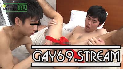 【HD】【MR-KR1435】アナルはNGだったオシャレ系顎鬚男子がSHINOBUに生堀りされる!