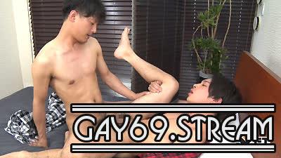 【HD】【GT-1484】KENSYOとRYOがパジャマでエロエロ、オヤスミ前のエロ情事♂×♂