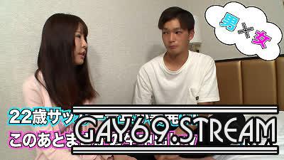 【HD】【GONA-058】 22歳のイケメンサッカー青年が我慢出来ずに生中出しシュート!(汗)
