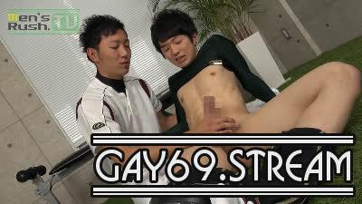 【HD】【MR-KR902】 AYUMUが試合後に学生コーチと禁断の激エロストレッチ♂