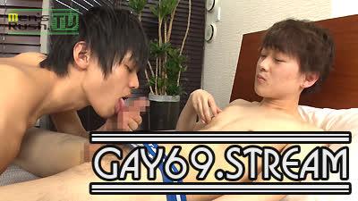 【HD】【MR-KR1185】 小柄でカワイイ系の19歳が初撮影でTAIGAのデカチンを生ハメされる♂
