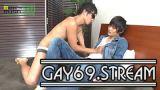 【HD】【MR-KR1238】 TAIGAが生チンをハメられたままビンビンのチ○コからザーメンをぶっ放す☆