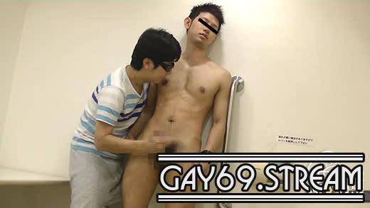 【HD】【MB-00491】 【メンズブレイカー:Full HD】某ボクサー似のイケメンスポーツマンが公衆トイレで男にイタズラされて大量射精!!!