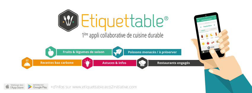 Etiquettable alimentation durable gayane