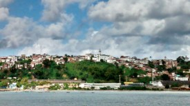 Salvador, view from the ferry