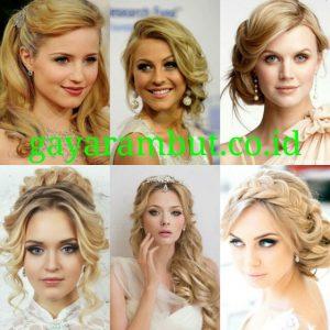 60 Model Rambut Pesta Malam Untuk Wanita Wajah Bulat Yang Simple Dan