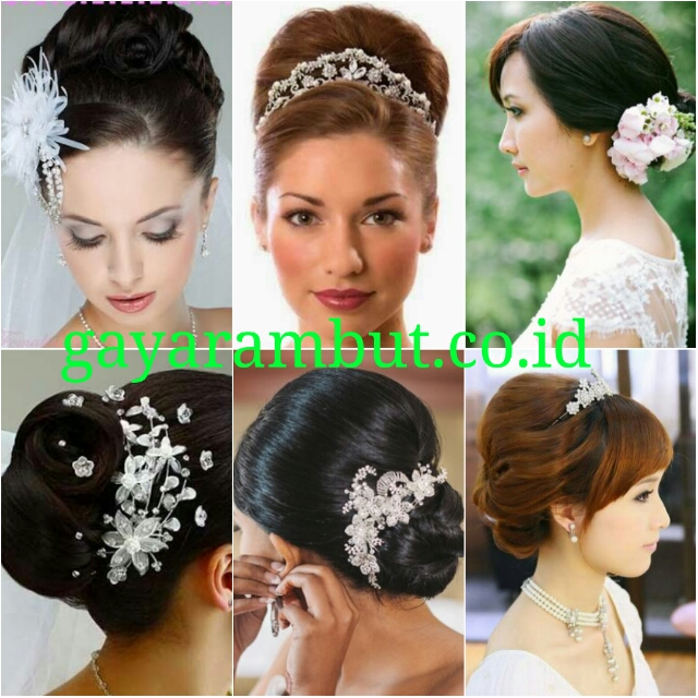 Sanggul Model Rambut Pesta Untuk Wanita Wajah Bulat Gayarambut Co Id