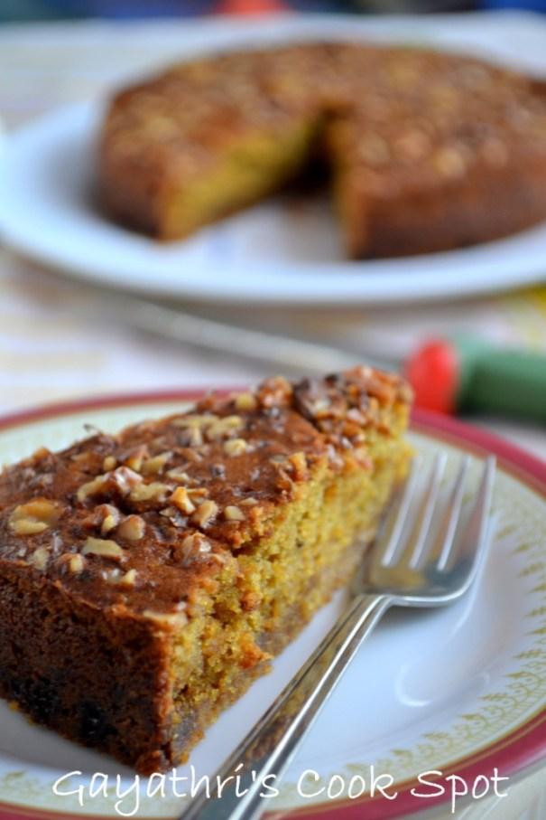 Eggless Armenian Nutmeg Cake
