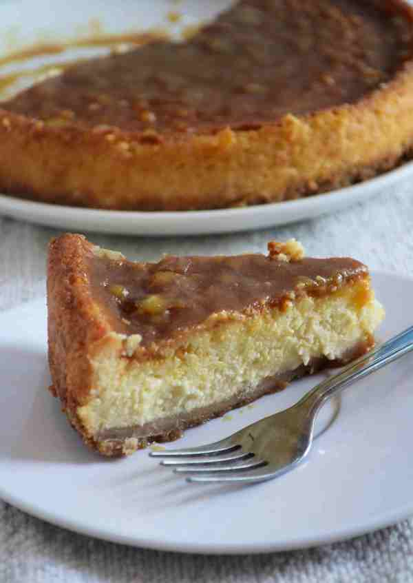 Eggless New York Cheese Cake