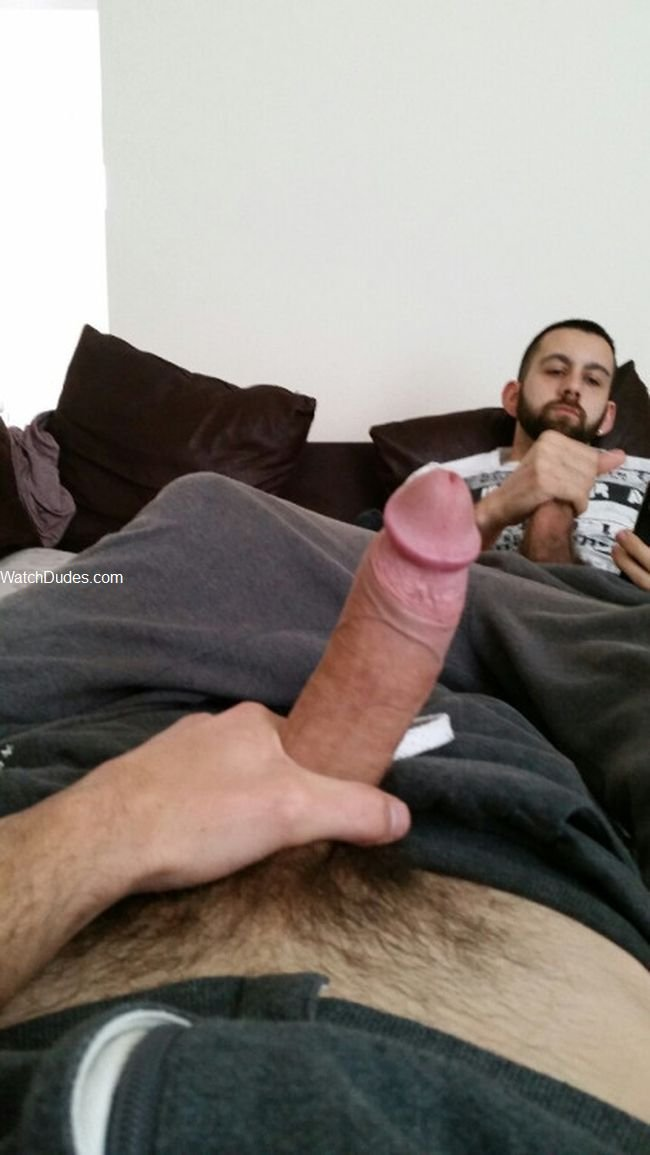 I wank on snapchat, instagram, omegle and kik to naked boys with very big cocks who jerkoff at least twice a day