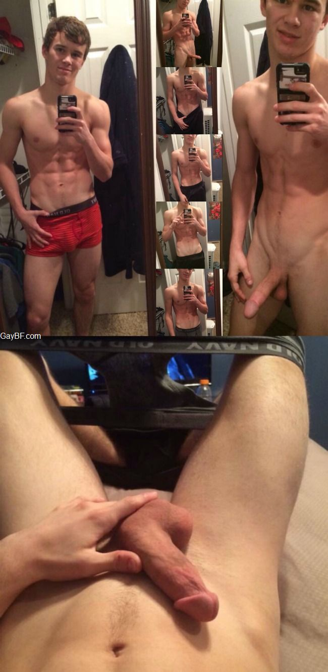 Nude Men Selfies is a free gay porn site with pictures of nude men who take nude selfies while showing off their cocks. sexy-straight-penis. This hot man is posing in front of a mirror and showing off his erect penis while pulling up his shirt by Watch Dudes